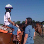 Flying g ranch student riding instructor course